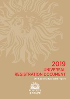 "Cover - ""2019 Annual financial report"""